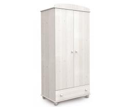 2 dveřová skříň se šuplíkem Faktum Tomi Glaze White