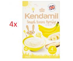 4x Jemná banánová kaše 125 g Kendamil