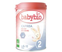 6x Babybio Caprea 2