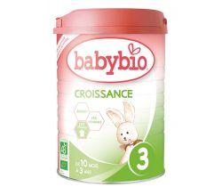 6x Babybio Croissance 3 900 g