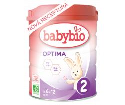 6x Kojenecké Bio mléko Babybio Optima 2 800 g