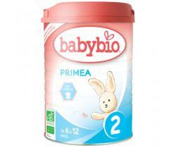 6x Babybio Primea 2
