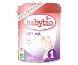 6x Kojenecké Bio mléko Babybio Optima 1 800 g
