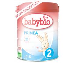 6x Kojenecké mléko 800 g Babybio Primea 2