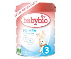 6x Kojenecké mléko 800 g Babybio Primea Croissance 3