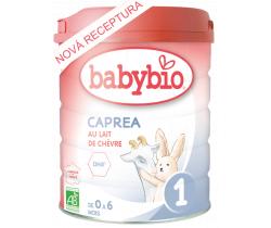 6x Kozí kojenecké mléko Babybio Caprea 1 800g New