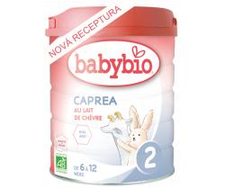 6x Kozí kojenecké mléko Babybio Caprea 2 800g New