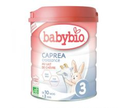 6x Kozí kojenecké mléko Babybio Caprea 3 800g New