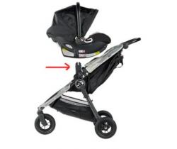 Adaptér na autosedačku Baby Jogger City Go