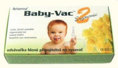Arianna Baby-Vac 2 Ergonomic Odsávačka hlenů na vysavač