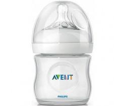 Avent Natural láhvička na mléko 0m+ 125 ml