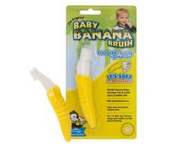 První kartáček Baby Banana Brush
