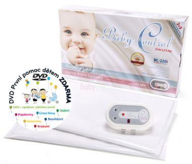 Monitor dechu pro dvojčata Baby Control Digital BC-220i