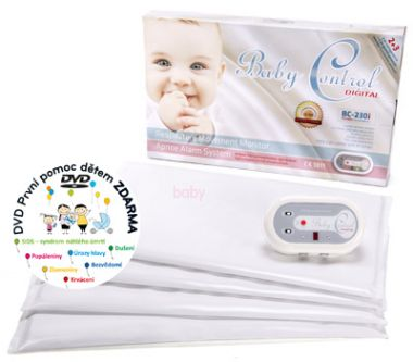 Monitor dechu pro dvojčata Baby Control Digital BC-230i