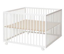 Dřevěná ohrádka 99x99x73 cm Baby Dan Comfort Large