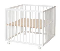 Dřevěná ohrádka 79x79x73 cm Baby Dan Comfort Medium