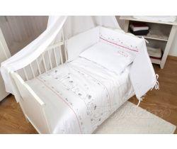 Baby Matex Bianco Cat bavlněné povlečení