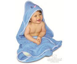 Baby Matex LUPER dětská osuška s kapucí