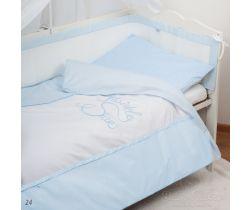 Baby Matex Twinkle Star bavlněné povlečení modré