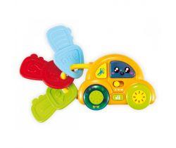 BabyMix Autíčko s klíčemi
