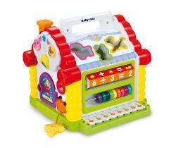 BabyMix Domeček plastový edukační hračka