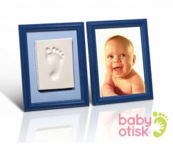 Baby Otisk sada pro otisk s barevnými rámečky-modrá