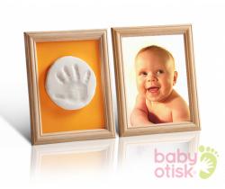 Baby Otisk sada pro otisk s paspartami-oranžovo zelená