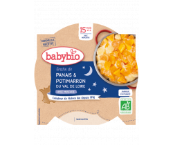 Babybio Good Night menu gratinovaný pastiňák s dýní 260g