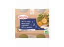Babybio Good Night menu hrášek, sladká kukuřice s rýži 2 x 200g