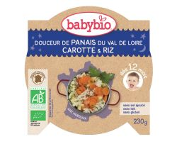 Babybio Good Night menu jemná směs pastiňáku s mrkví a rýží 230g