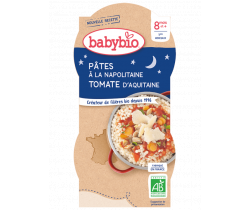 Babybio Good Night menu neapolské těstoviny 2 x 200g