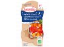 Babybio Good Night menu sladké brambory s letní zeleninou 2 x 200g