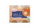 Babybio Good Night mrkvové mouliné s quinoa 2 x 200g