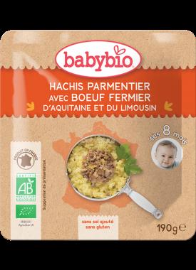 Babybio hovězí Hachis parmentier 190g