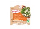 Babybio menu brambory a fazolky s krůtími plátky 230g