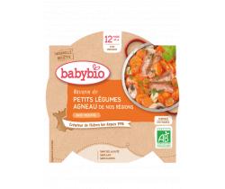 Babybio menu dušená zelenina s jehněčím masem 230g