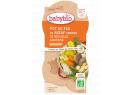 Babybio menu dušené hovězí maso se zeleninou 2 x 200g