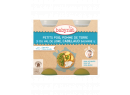 Babybio menu hrášek a brambory s islandskou treskou 2 x 200g