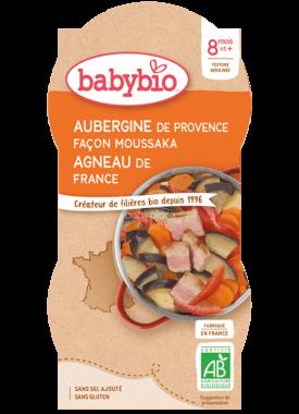 Babybio menu lile na způsob Musaky s jehněčím masem 2 x 200g