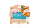 Babybio menu mrkev a brambory s treskou 260g