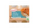 Babybio menu mrkev a dýně se pstruhem 2 x 200g