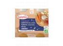 Babybio menu mrkev a rajčata s těstovinami 2 x 200g