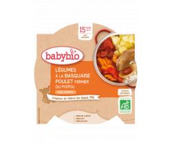 Babybio menu zelenina s kuřetem a rýží 260g