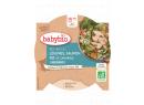 Babybio menu zelenina s lososem a rýží 260g