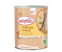 Babybio nemléčná rýžová kaše s vanilkou 220g