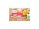 Babybio ovocný příkrm jablko, mango 2 x 130g