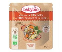 Babybio zeleninové ragout s vepřovým masem 190g