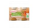 Babybio zeleninový příkrm mrkev 2 x 130g