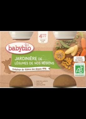 Babybio zeleninový příkrm zeleninová směs 2 x 130g