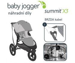 Brzda kabel Baby Jogger Summit X3